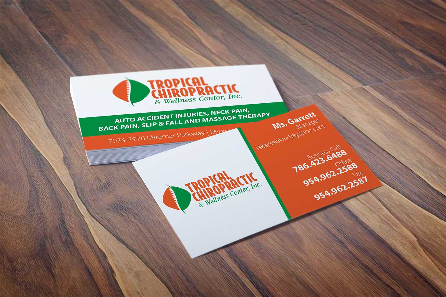 Business Cards - Moro Design Group